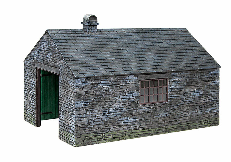 Narrow Gauge Slate built engine shed
