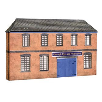 Low Relief Victorian Factory Front