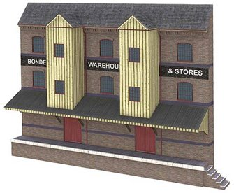 Low Relief Bonded Warehouse