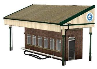 Low Relief Rail Milk Depot