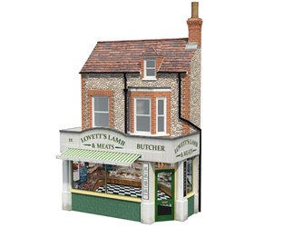 Low Relief 'Lovett's Lamb and Meats' Butcher