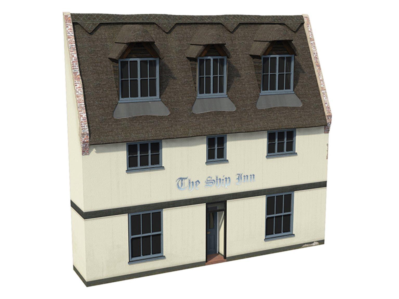 Low Relief 'The Ship Inn' Pub