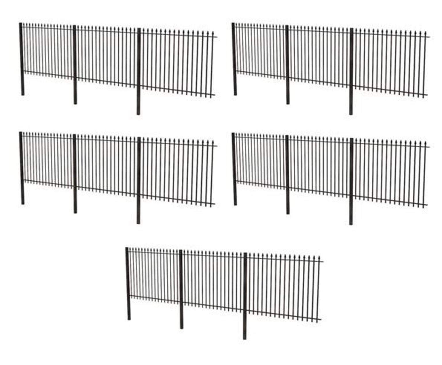 44-562 Metal Fencing (OO Gauge) by Scenecraft - Rails of
