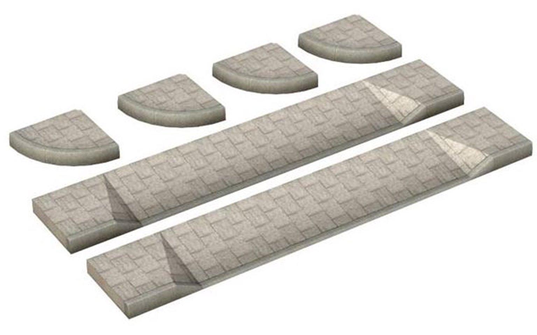 Corner Pavements and Drop Curbs