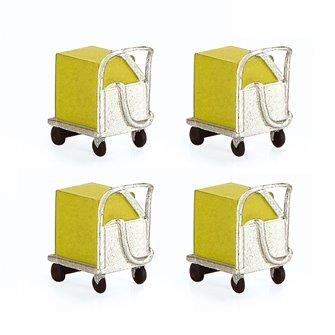 Coolant Trolleys x 4
