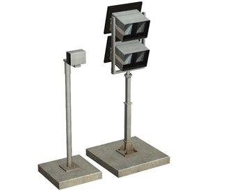 Platform Monitors and Camera