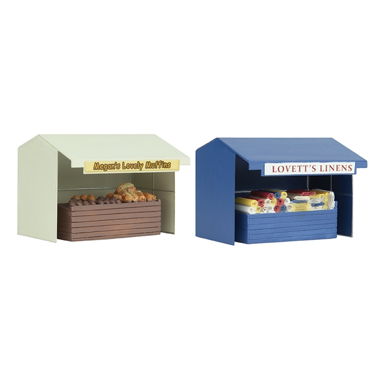 Two Market Stalls