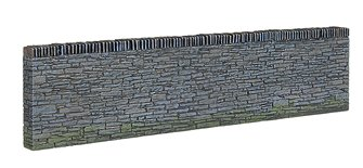 Narrow Gauge Slate Retaining Walls