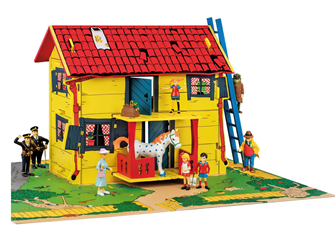 Pippi Longstocking Play House with Playmat