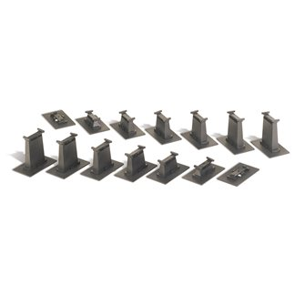 E-Z Track 14-Piece Graduated Pier Set