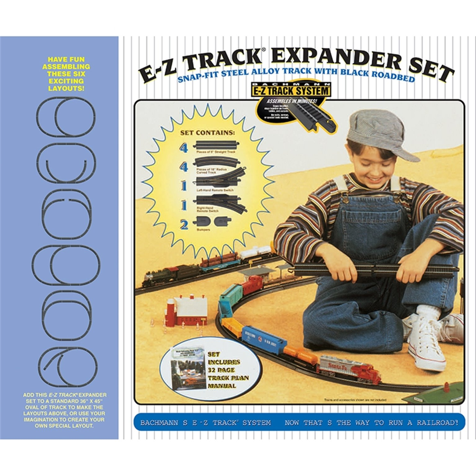 Steel Alloy E-Z Track Layout Expander Set