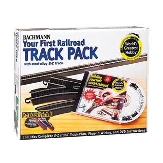 Worlds Greatest Hobby Railroad Steel Alloy Track Pack