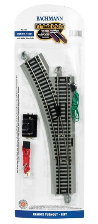 E-Z Track Remote Turnout Left (1/Card)