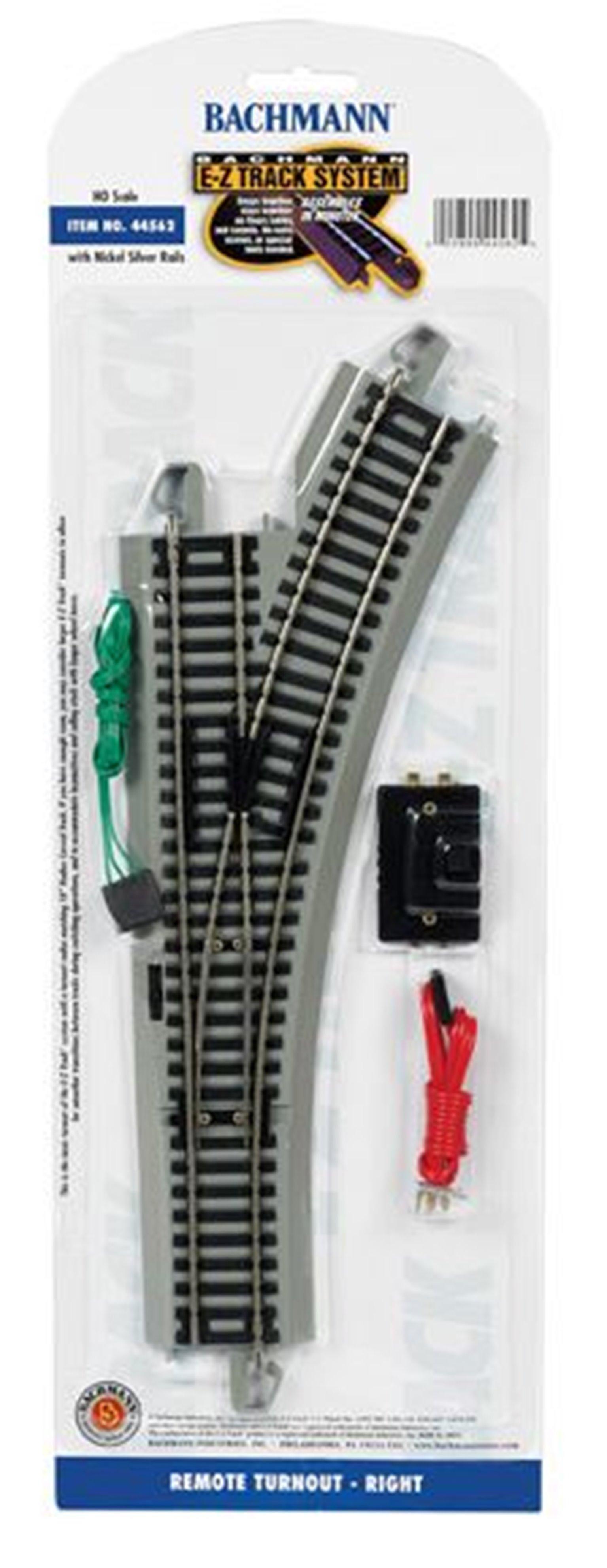 E-Z Track Remote Turnout Right (1/Card)