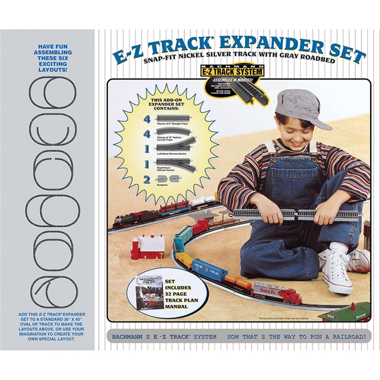 E-Z Track Nickel Silver Layout Expander Set