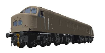 Class 45/1 D57 BR Green with Small Yellow Panels Diesel Locomotive