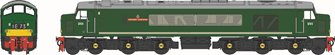 Class 45/1 'Grenadier Guardsman' D65 BR Green with Small Yellow Panels Diesel Locomotive