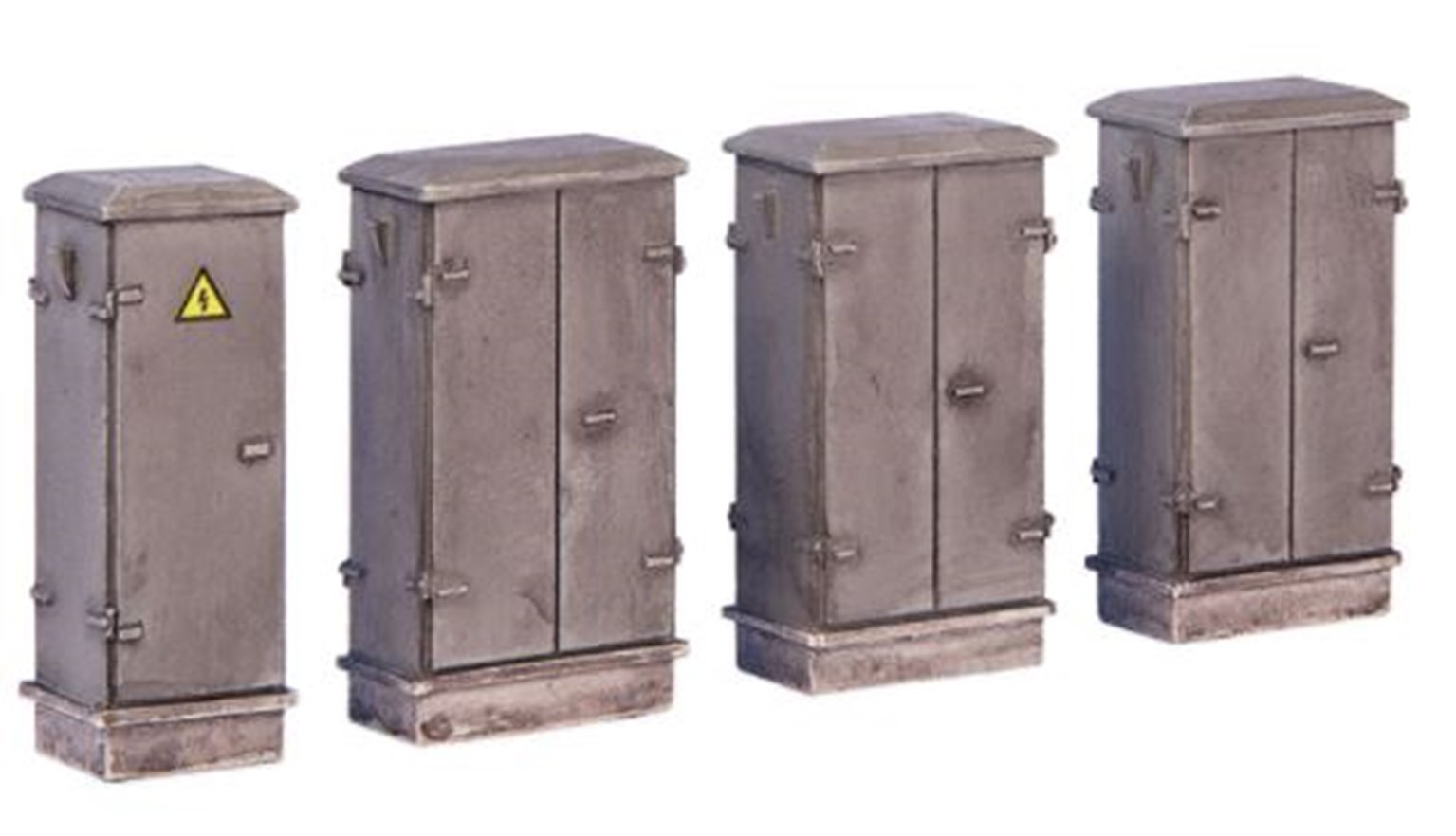 Lineside cabinets (x4)