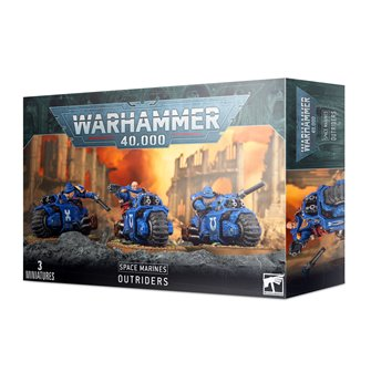 Warhammer 40,000 Space Marines Outriders