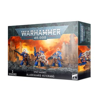 Warhammer 40,000 Space Marines Bladeguard Veterans