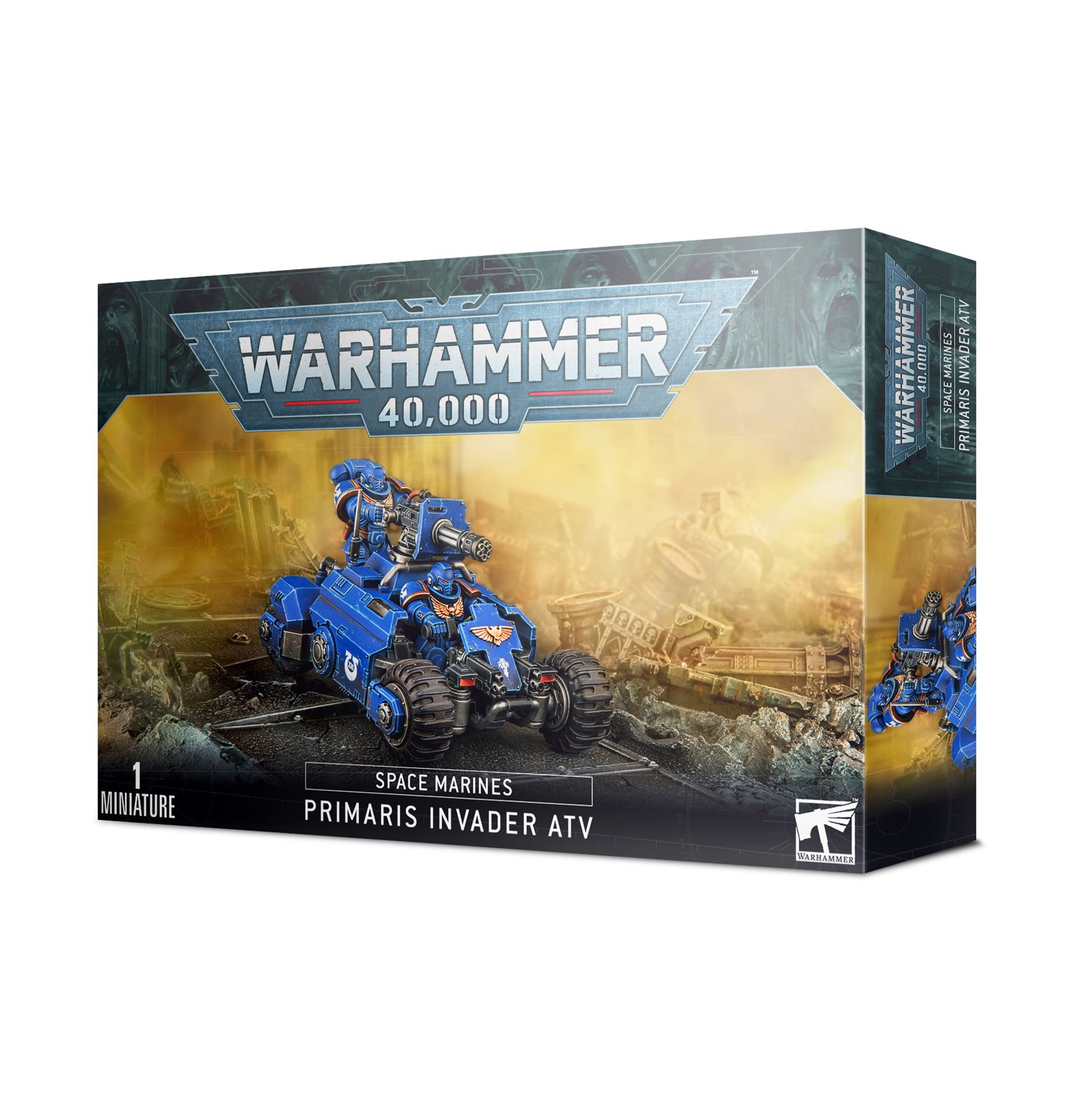 Warhammer 40,000 Space Marines Primaris Invader ATV