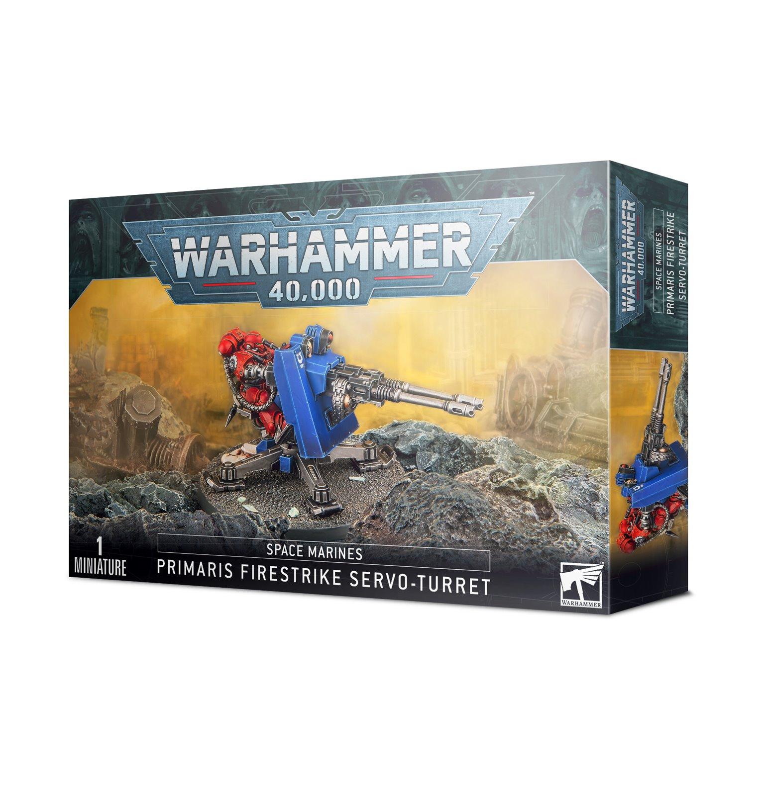 Warhammer 40,000 Space Marines Firestrike Servo-Turret