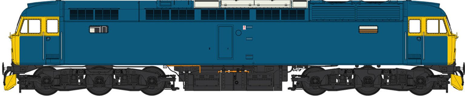 Class 47 (V2) BR Blue (Full Yellow Ends) Diesel Locomotive