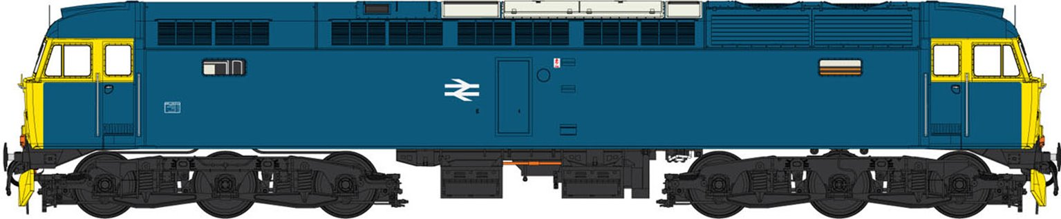 Class 47 (V3) BR Blue (Full Yellow Ends) Diesel Locomotive