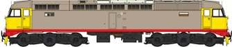 Class 47 (V3) Railfreight 'Red Stripe' Grey Diesel Locomotive