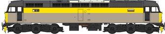Class 47 (V3) BR Engineers Grey/Yellow Diesel Locomotive