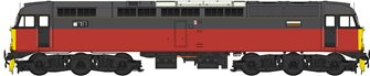 Class 47 (V3) BR Parcels Sector Red/Grey Diesel Locomotive