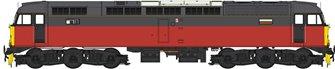Class 47 (V3) BR Parcels Sector Red/Grey Diesel Locomotive