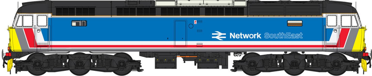 Class 47 (V3) Network SouthEast (original version) Diesel Locomotive