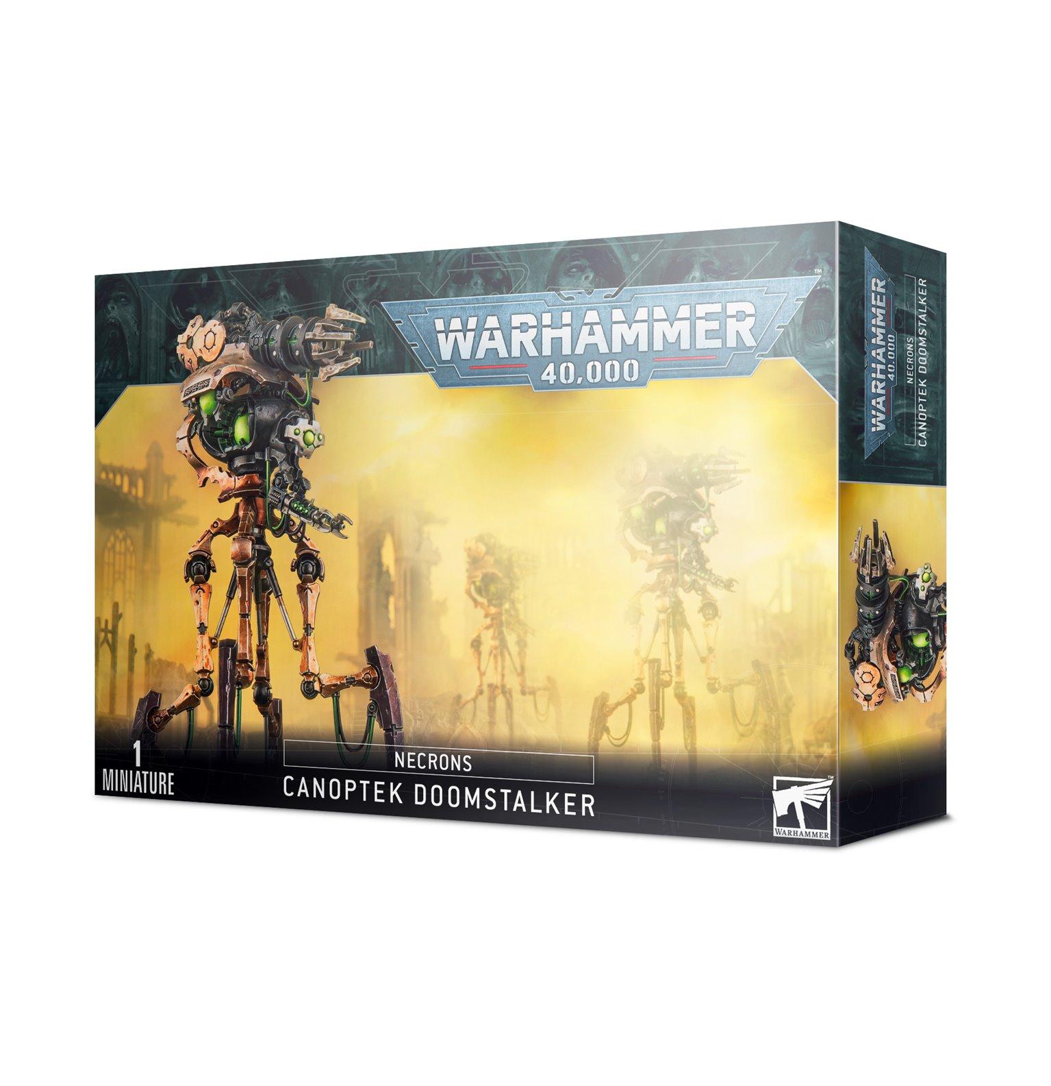 Warhammer 40,000 Necrons Canoptek Doomstalker