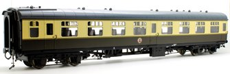 BR MK1 SO Second Open Chocolate/Cream Coach