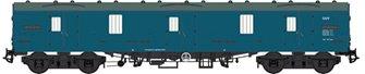BR Mk1 57' GUV (General Utility Van) BR blue unnumbered