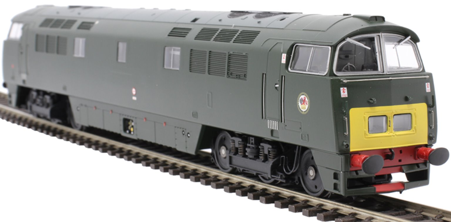 Western Yeoman BR Class 52 D1035 Western Yeoman Green SYP - Sound Fitted