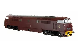 Western Harrier Class 52 BR Maroon Yellow Buffer Beam D1008 - DCC Fitted