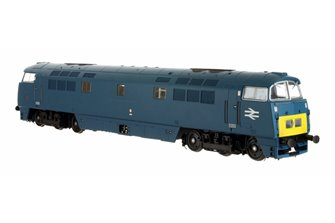 Western Duke Class 52 BR Chromatic Blue SYE D1043 Large Double Arrows - DCC Fitted
