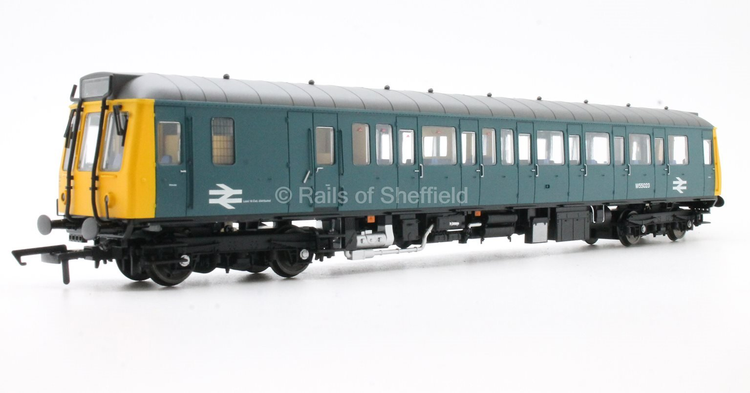 Class 121 #W55023 BR Blue - DCC Fitted