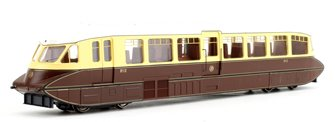 Streamlined Railcar GWR Lined Chocolate/Cream Locomotive No.12