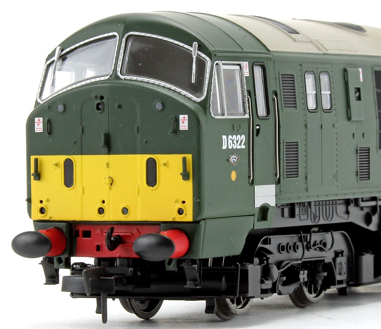 Class 22 D6322 BR Green SYP Disc Headcode