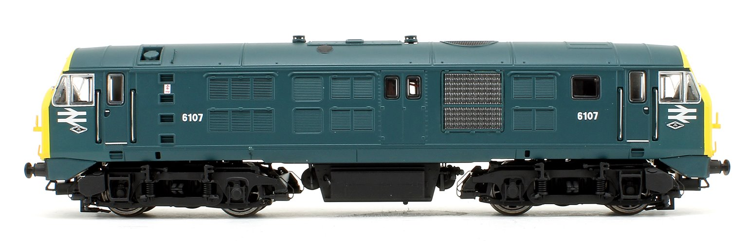 Class 29 D6107 BR Blue, Headcode Box (Full Yellow End) Diesel Locomotive DCC Fitted