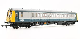 Class 122 Bubble Car #55002 Blue & Grey livery - DCC Fitted