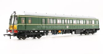 Class 122 Bubble Car #SC55007 BR Green Small Yellow Panel - DCC Fitted