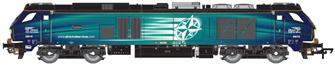 Class 68 Fearless 68016 DRS Compass