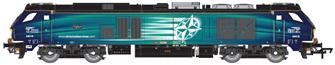 Class 68 Vigilant 68018 DRS Compass
