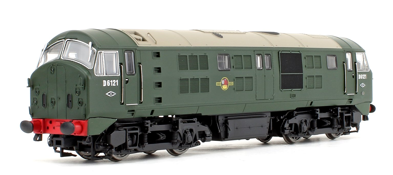 Class 21 D6121 BR GREEN (with Headcode Discs) Diesel Locomotive