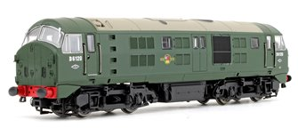 Class 21 D6120 BR green (with Headcode Discs) Diesel Locomotive - DCC sound fitted