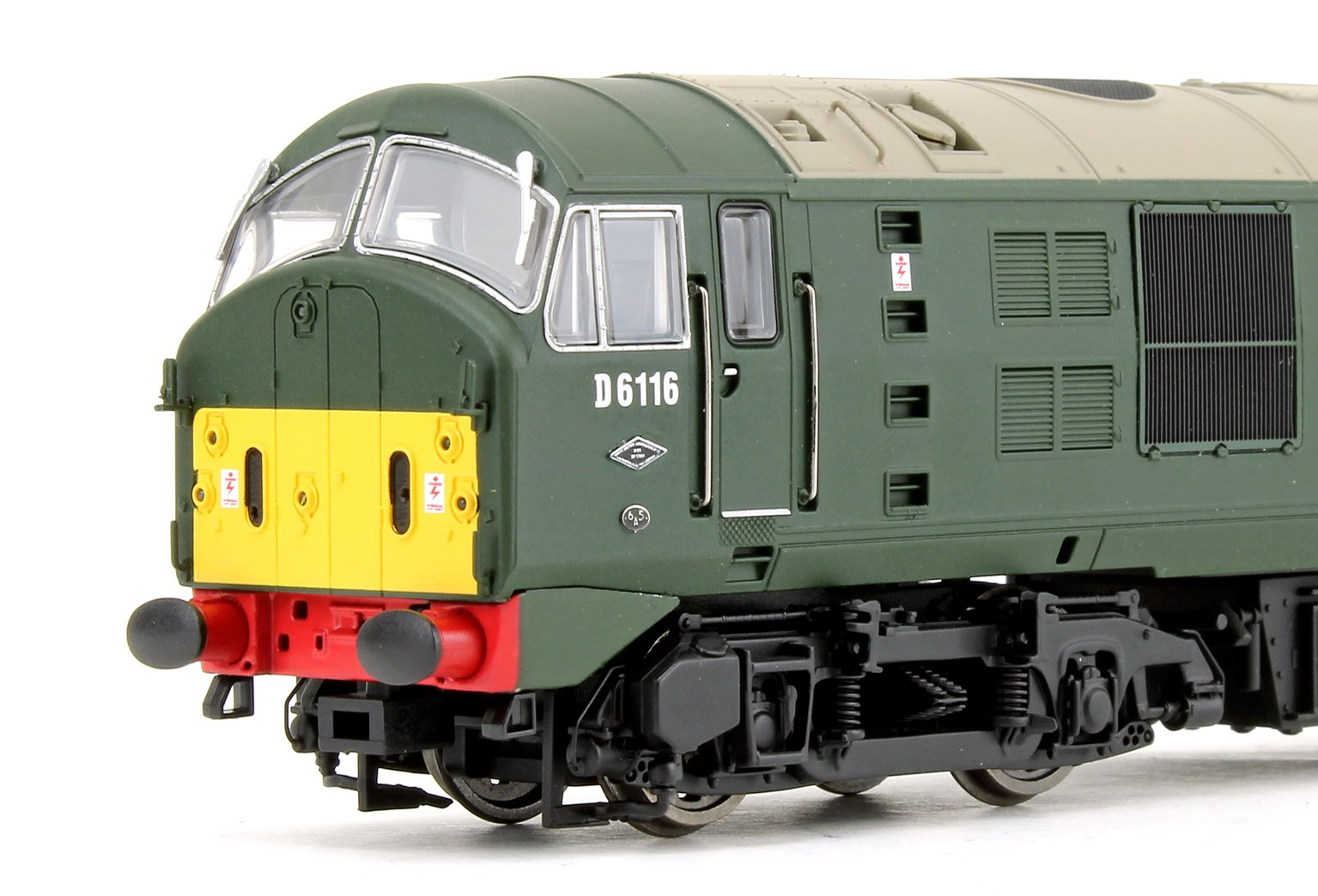 Class 21 D6116 BR Green with small yellow panels Diesel Locomotive - DCC fitted